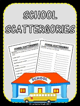 School Scattergories
