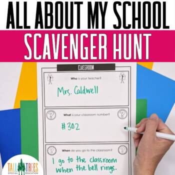 School Scavenger Hunt