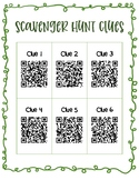 School Scavenger Hunt QR Code Hints