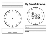 School Schedule Book: Learning Time!