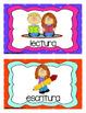 School Schedule Cards (en español)