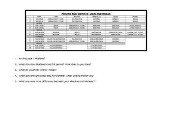 School Schedules