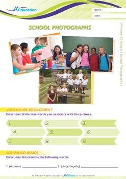 School - School Photographs - Grade 3