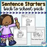 School Sentence Starters