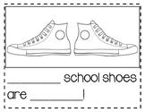 Pete The Cat School Shoes