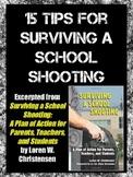 School Shootings: 15 Tips For Survival