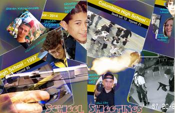 School Shootings - Mass Murder - Criminal Law - Top 25 American- FREE POSTER