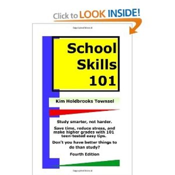 School Skills 101 ~ the easy/ugly study skills book
