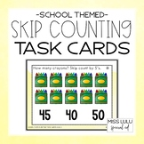 School Skip Counting Task Cards