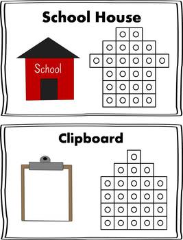 School Snap Cube Activity {FREEBIE}