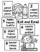 School Snowmen Roll and Read - Syllables VCCV