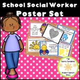 School Social Worker Posters