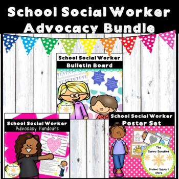 School Social Worker Handout Bundle