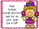 School Social Worker Advocacy Handouts and Posters Bundle