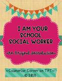"""School Social Worker 'Poem' """"Rich"""" Set {Fuschia & Teal}"""