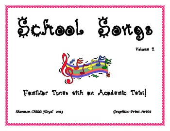 School Songs Volume 2