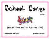 School Songs Volume 2