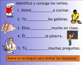 School Spanish SMART Board Lesson