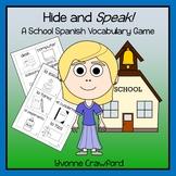 Spanish School Vocabulary Game - Hide and Speak