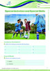 School - Special Activities and Special Skills - Grade 5