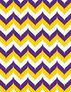 "School Spirit Chevron Backgrounds, 20-Pack (8.5"" x 11"")"