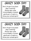 School Spirit Day/ School Spirit Week Printable Reminder Notes FREEBIE