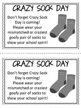School Spirit Day/ School Spirit Week Printable Reminder Notes {GROWING BUNDLE}