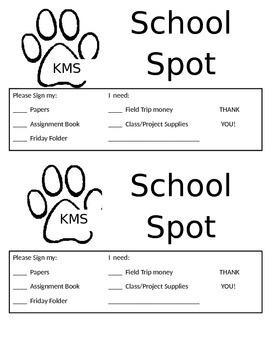 School Spot - Home Poster
