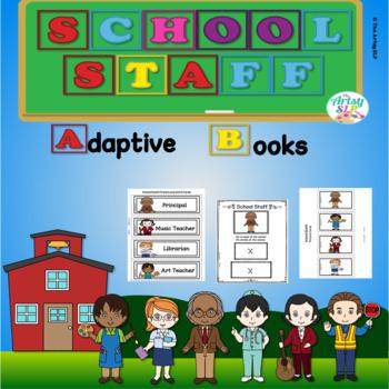 School Staff Adaptive Books
