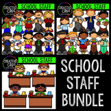 School Staff Bundle {Creative Clips Digital Clipart}