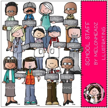 School Staff by Melonheadz COMBO PACK