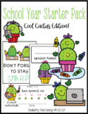 School Starter Packs for SLPs! {Cool Cactus Edition}