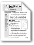 School Starts Today (Everyday Literacy)