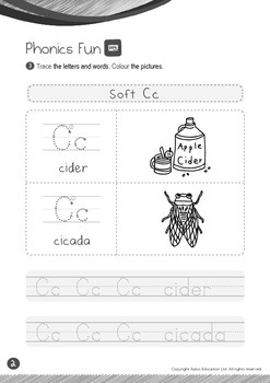 School - Stationery (II): Soft C - Kindergarten, K2 (4 years old)