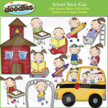 School Stick Kids