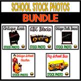 Stock Photos: Vintage School Bundle
