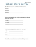 School Store Survey