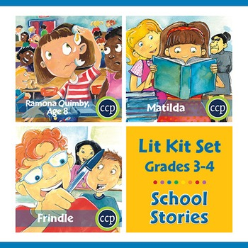 School Stories Lit Kit Set - Gr. 3-4