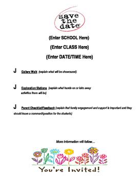 School Student-Led Gallery Walk Activity Station Task Card