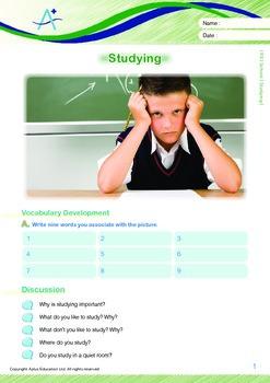School - Studying - Grade 5