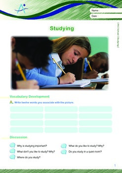 School - Studying - Grade 6