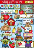 School Stuff Clip Art Download