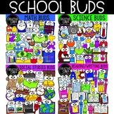 School Subject Buds Bundle {Creative Clips Clipart}