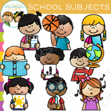 Sidekicks School Subjects Clip Art
