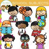 Sidekicks School Subjects Clip Art