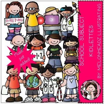 Melonheadz: School Subject Kidlettes