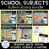 School Subjects: Bulletin Board Bundle