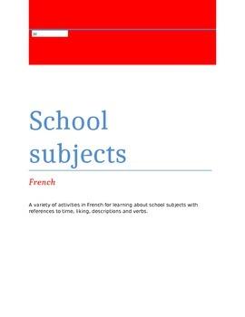 School Subjects FRN