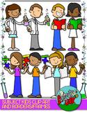 School Subjects Kids Clip art and Borders - FREEBIE