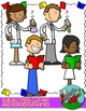 School Subjects Kids Clip art and Borders - FREEBIE